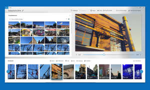 windows 10 fotos app storyboard
