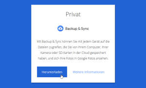 google fotos backup sync