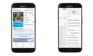 Samsung 65Q8DN im Test - Smart Things App Smartphone