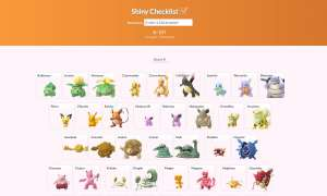 pokemon go shiny check liste