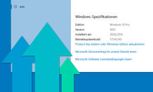 Windows 10 Aktuelle Version - Update Übersicht