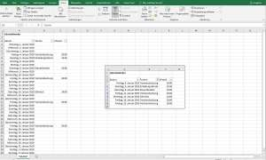 excel kalender filter funktion