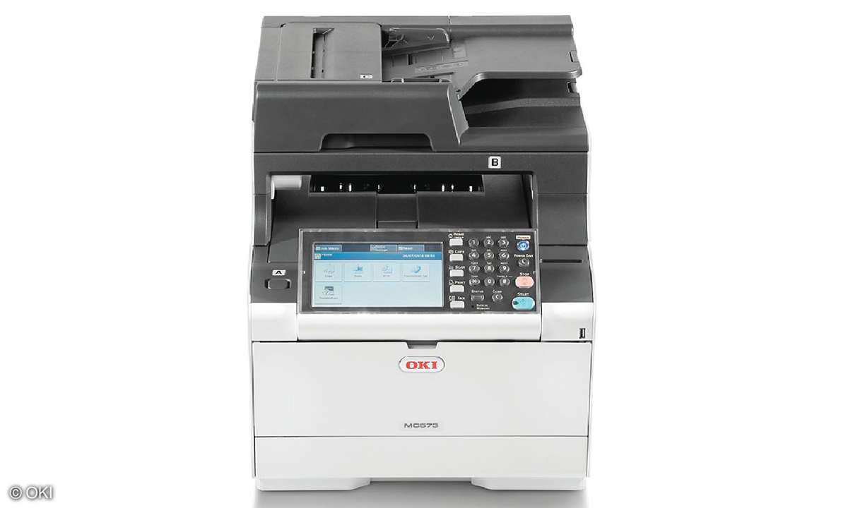 All-in-One Duell: Tinte vs. Laser - OKI MC573dn