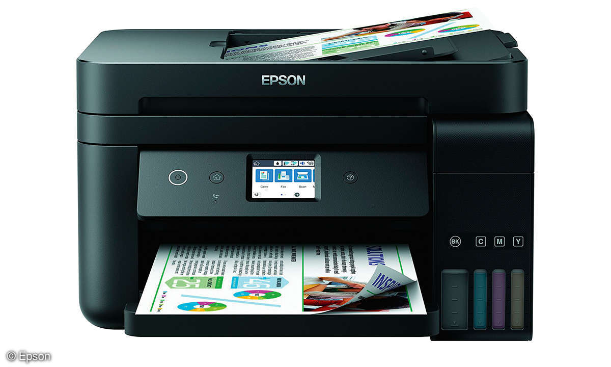 All-in-One Duell: Tinte vs. Laser - Epson ET-4750