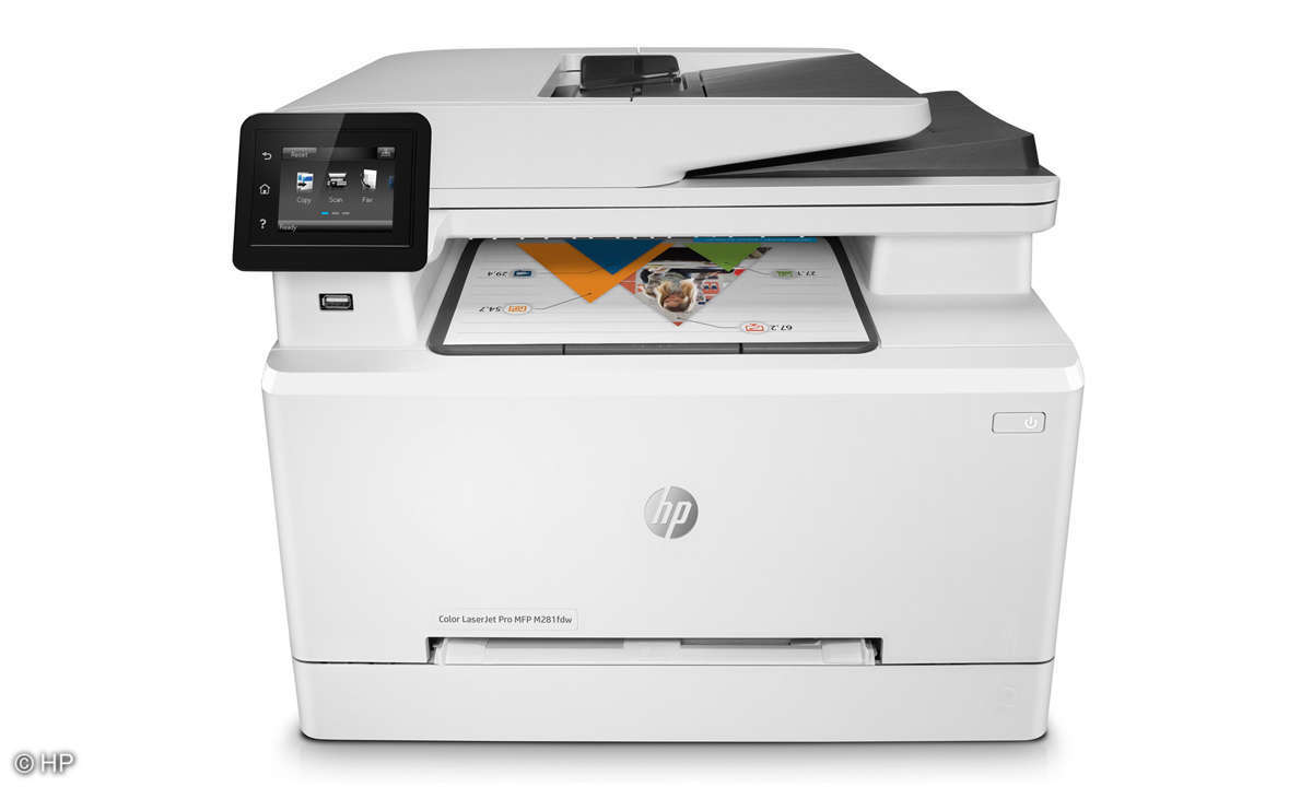 All-in-One Duell: Tinte vs. Laser - Familiendrucker - HP M281fdw
