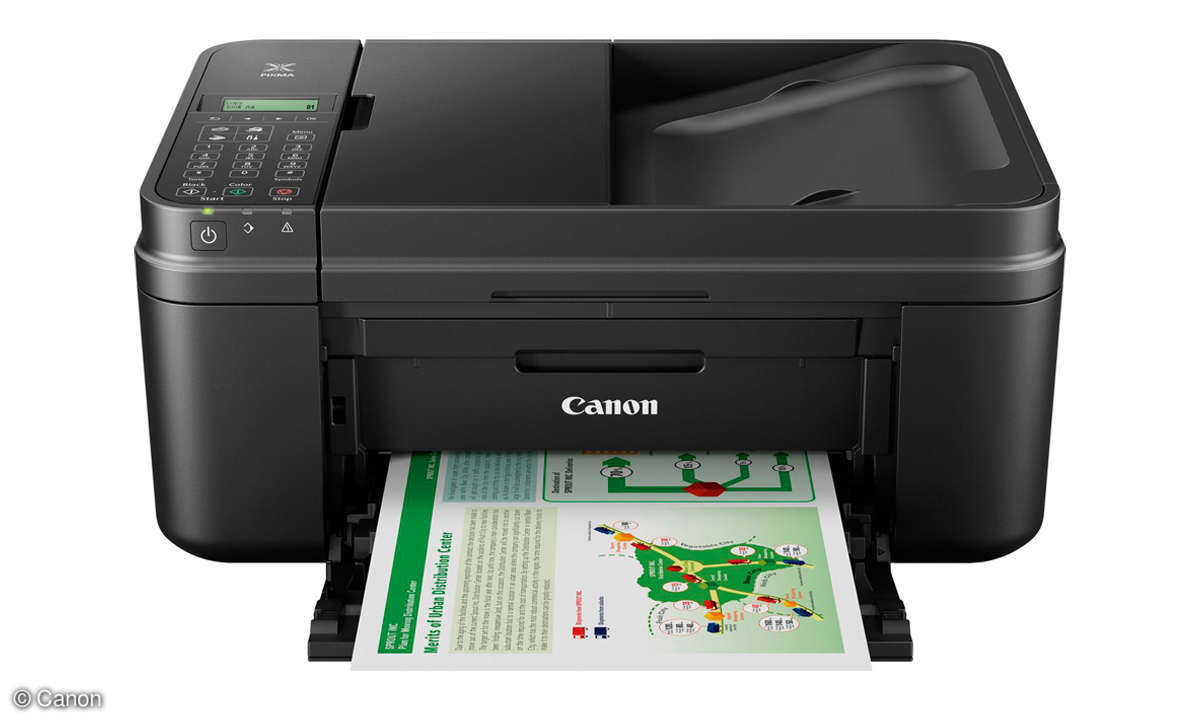 All-in-One Duell: Tinte vs. Laser - Familiendrucker - Canon MX495