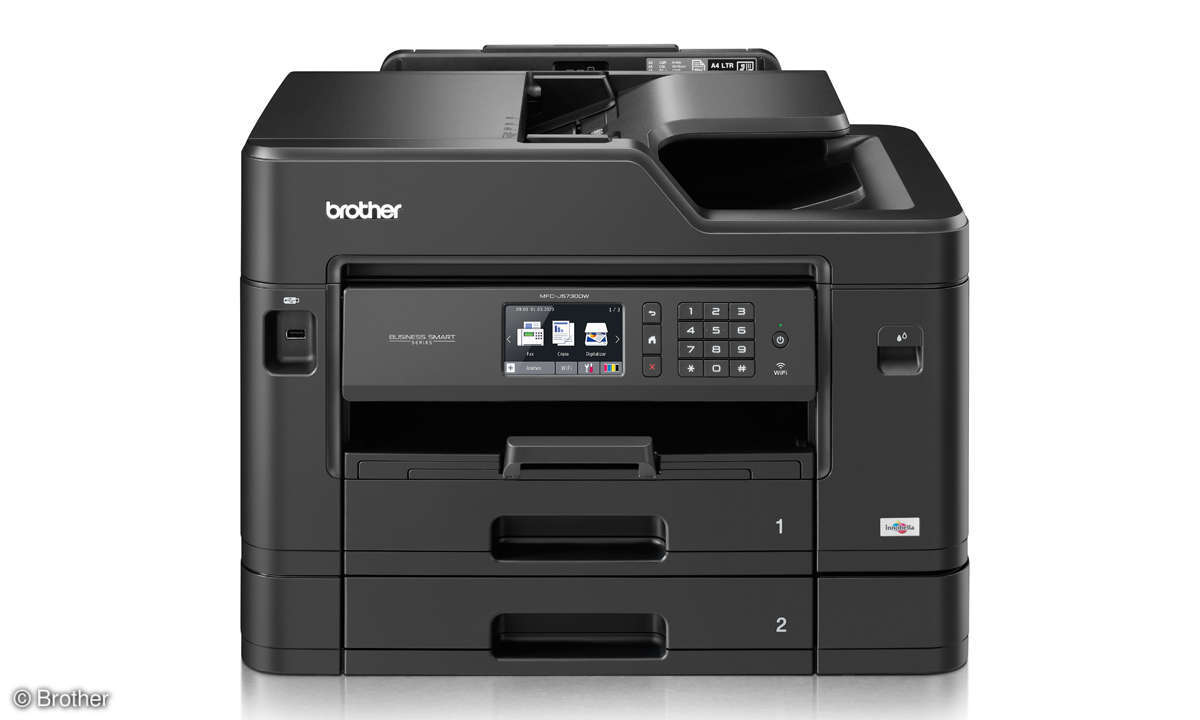 All-in-One-Drucker Duell: Tinte vs. Laser - Home-Office-Drucker - Brother MFC-J5730DW