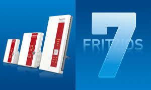 Fritz WLAN Repeater Powerline FritzOS 7 Update