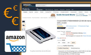 crucial mx500 ssd amazon angebot