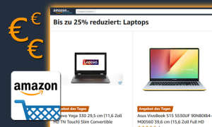 Amazon-Tagesangebote mit Laptops