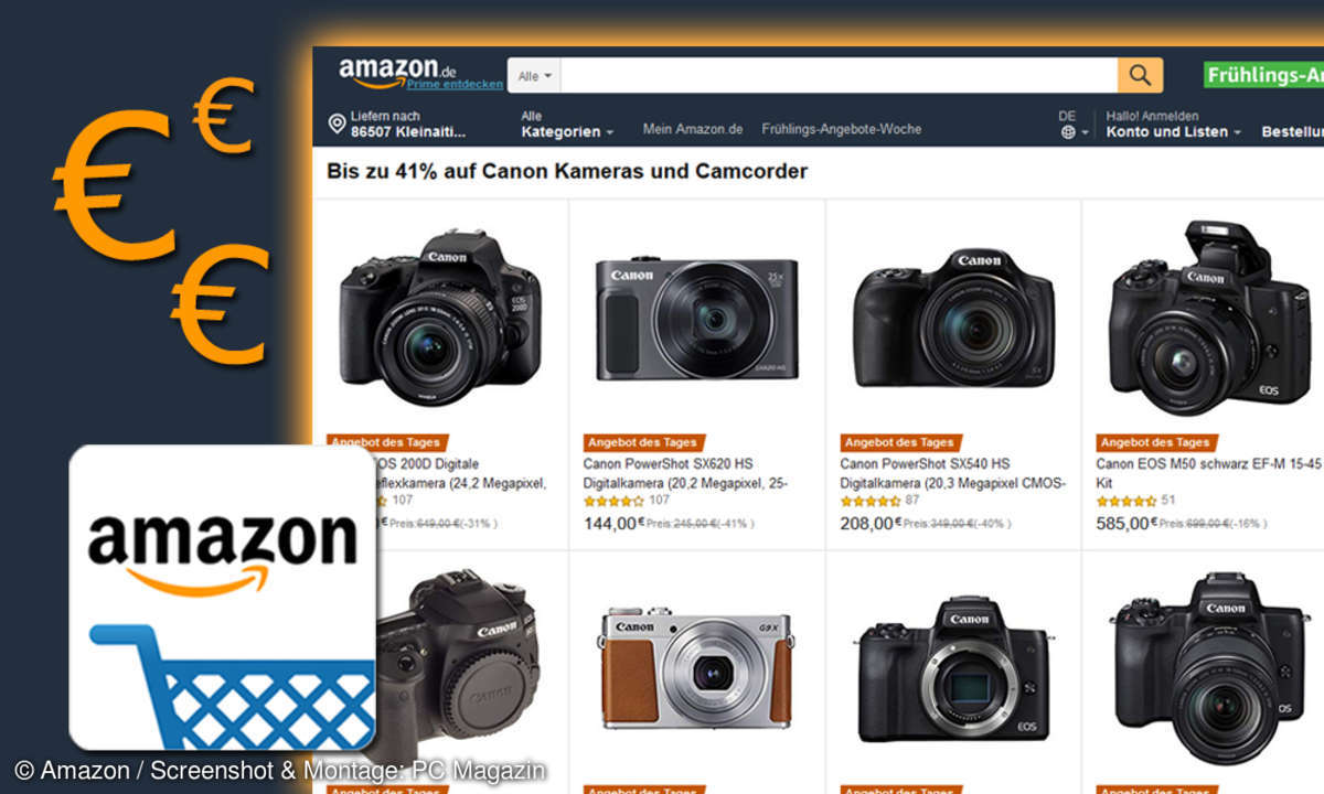 canon dlsr angebote amazon Frühlings Angebote Woche