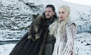 Game of Thrones 8 - Daenerys und Jon 2