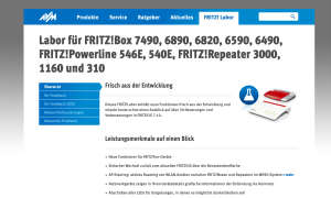 Fritzbox: Labor installieren