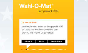Wahlomat Alternativen - Header