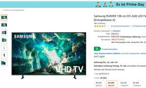 Samsung UE55RU8009: Angebot am Amazon Prime Day 2019