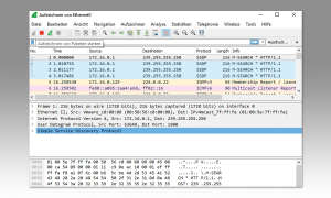 Open-Source: Kostenlose Software Alternativen - Screenshot WireShark