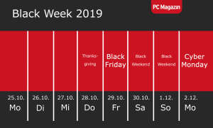 black friday cyber monday termin 2019