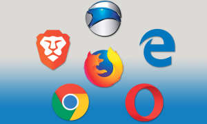Browser-Vergleich: Firefox vs. Opera, Brave, Iron, Chrome & Edge