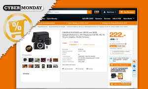 canon eos 2000d saturn cyber monday angebot