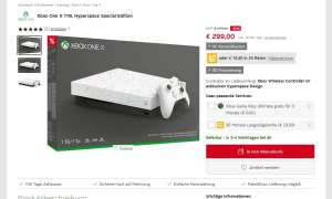 Xbox One X im Angebot: Hyperspace Special Edition