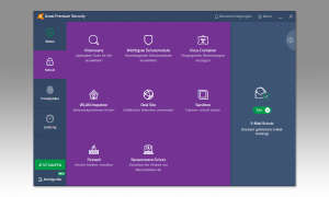 Antivirus Test 2020: Avast Screenshot