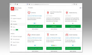 Antivirus Test 2020:  Avira Screenshot