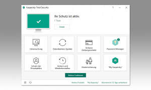 Antivirus Test 2020: Kaspersky Screenshot