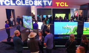 CES 2020 TCL Stand