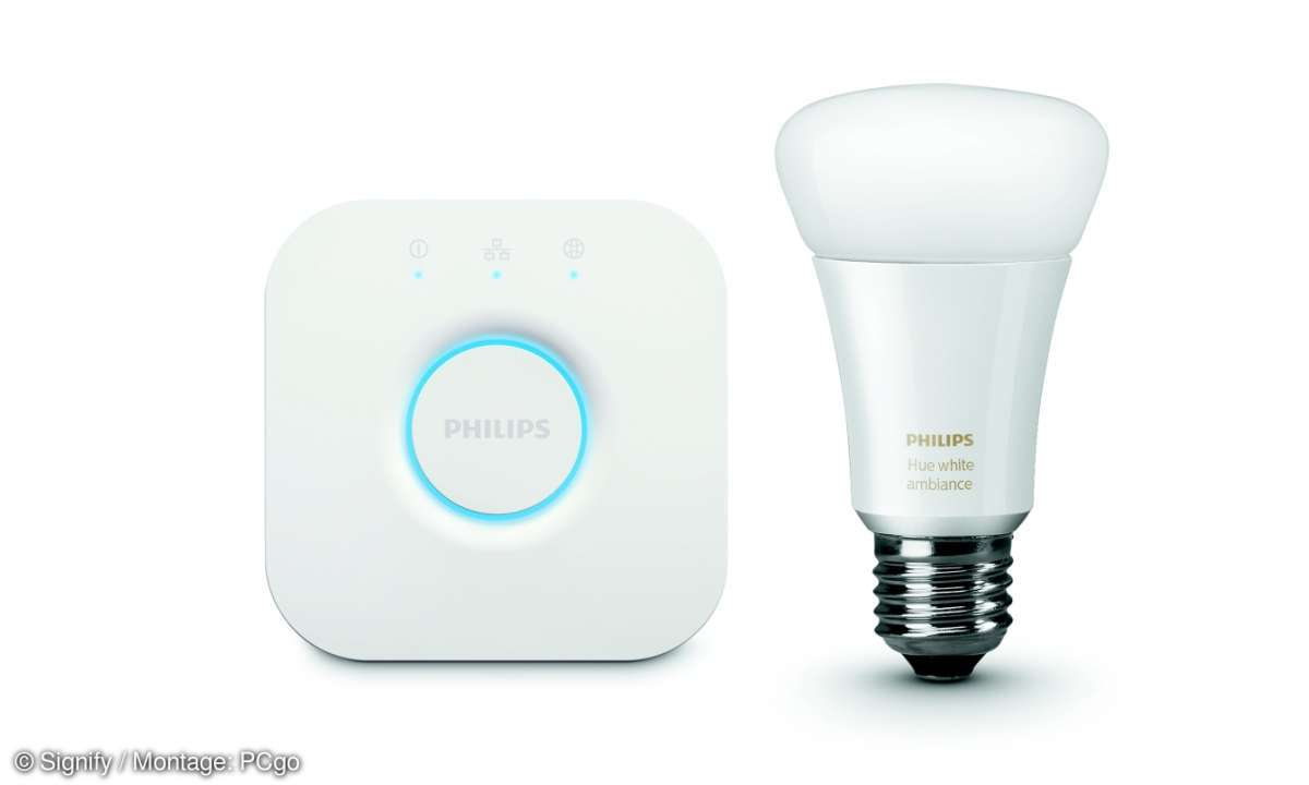 Smarte Beleuchtungs-Systeme: Signify Philips Hue