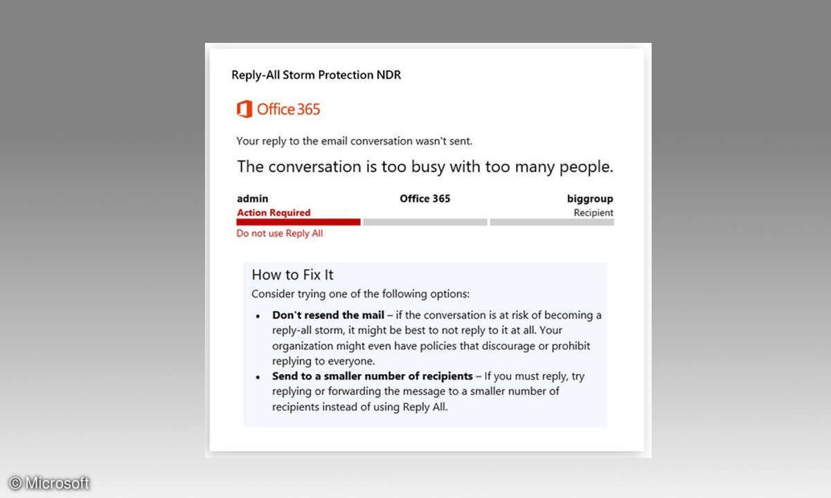 Microsoft Office Reply All