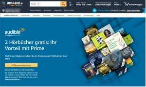 audible amazon prime aktion