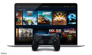 PS Now App Homescreen