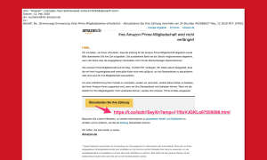 amazon phishing warnung