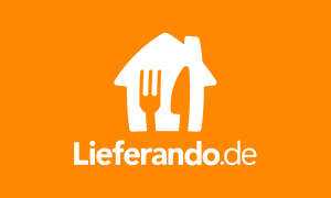 Logo von Lieferando