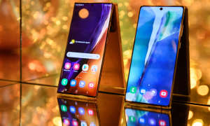 Galaxy Note 20 (Ultra) auf dem Samsung-Unpacked-Event.