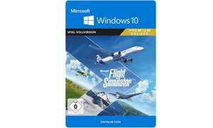Der Flight Simulator in der Premium Deluxe Edition