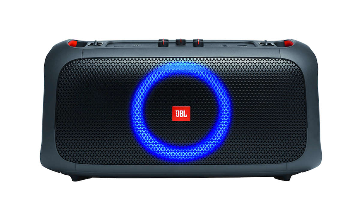 JBL Partybox on the go - Frontansicht