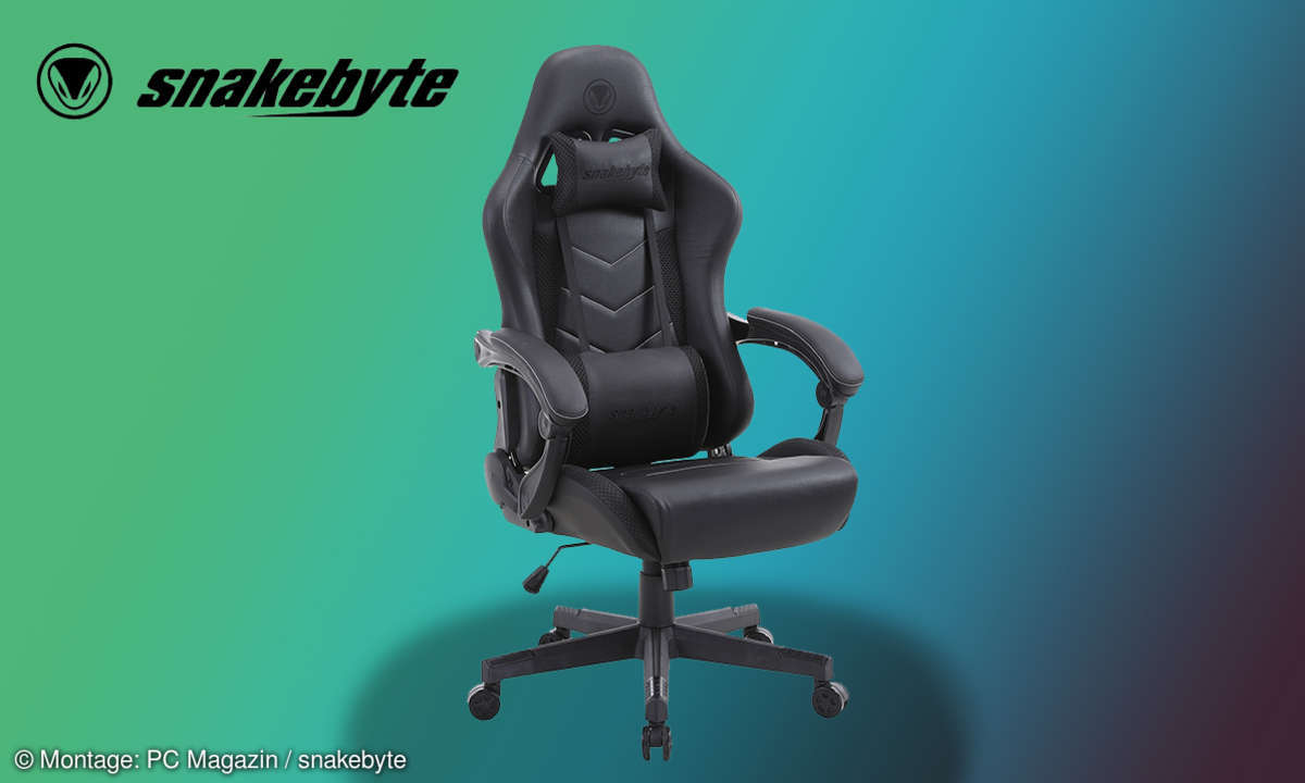 Snakebyte Gaming-Chair Test