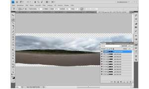 Photoshop-Workshop, Panorama-Funktion