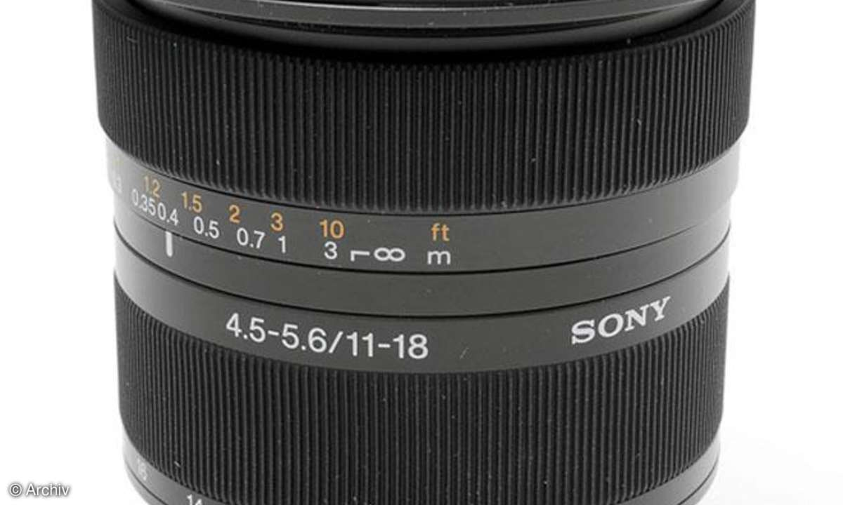 Sony DT 4,5-5,6/11-18 mm DT