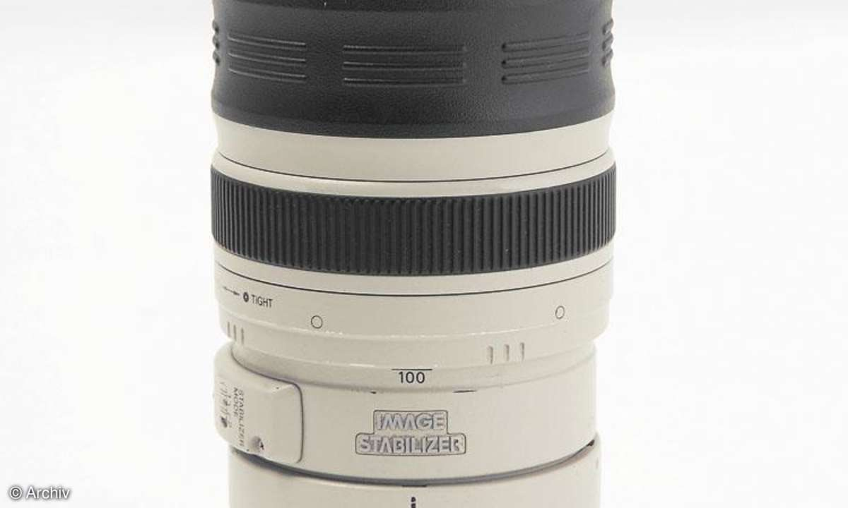 Canon EF 4,5-5,6/100-400 mm L IS USM an Canon EOS 450D