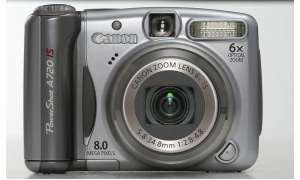 Canon Powershot A720 IS Vorderseite