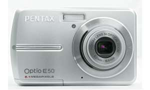 Pentax Optio E50 Vorderseite