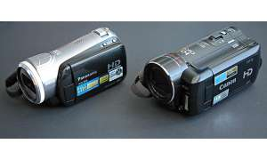 Panasonic HDC-SD9 vs. Canon HF-10