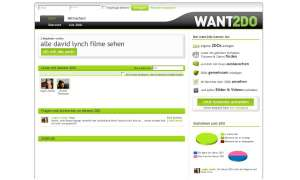 Coole Websites: www.want2do.de