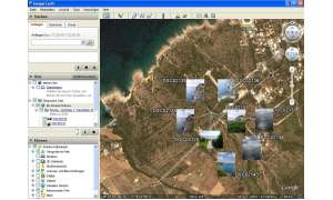 Google Earth zeigt Picasa-Bilder