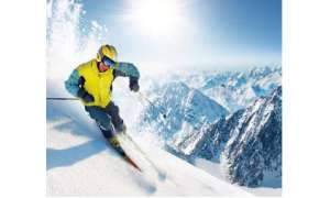 Winter Sport Wintersport Ski