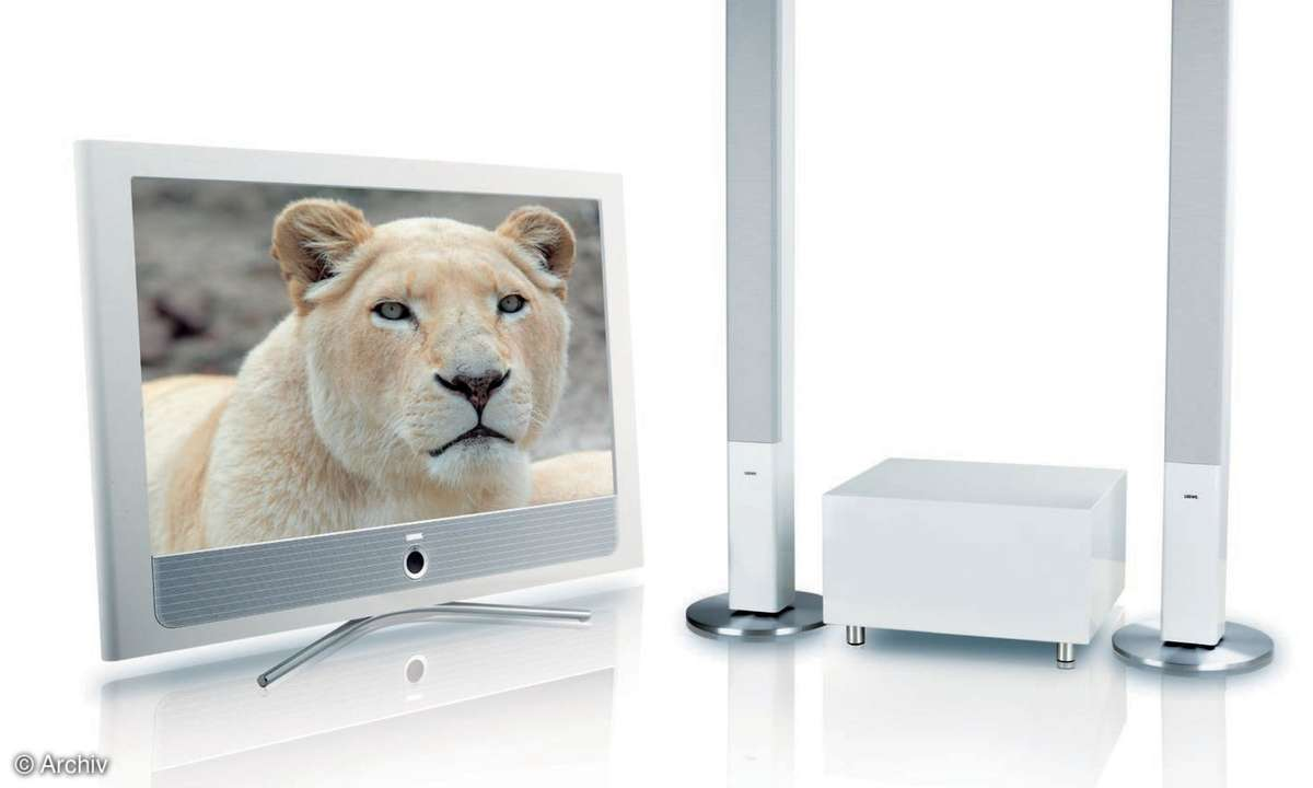 LCD-Fernseher & Boxenset: Loewe Connect 37