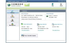 Windows aufräumen: Comodo System Cleaner