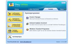 Windows aufräumen: Glary Utilities